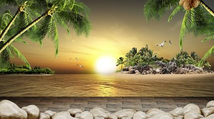 Summer Paradise Ocean Beautiful View