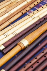 Number of flutes exposed to a fair