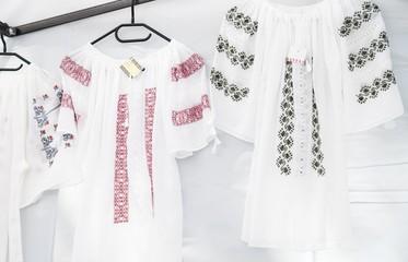 Romanian traditional shirts