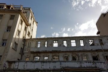 Immeuble en ruines