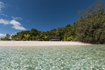 Tonga Polynesia Paradise Crystal Water Poster Panorama
