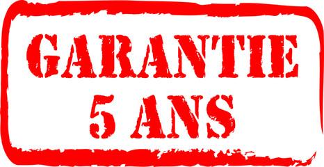 tampon garantie 5 ans