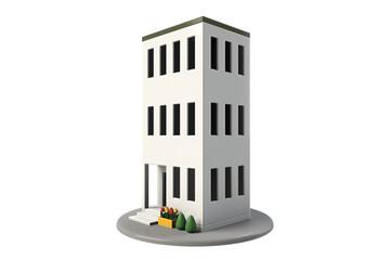三階建てのビル