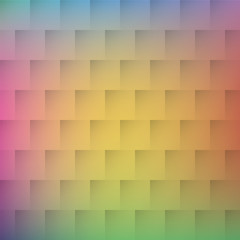 Mosaic geometric background with pastel colors