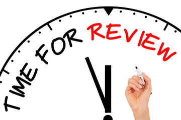 Time for Review Concept