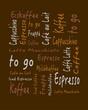 tag cloud coffee