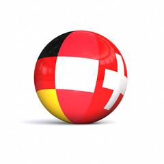3D D-A-CH countries