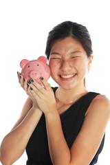 I Love Money or Woman Loving Money