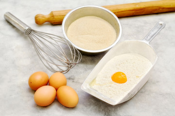 short pastry ingredients