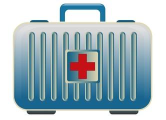 Notfallkoffer, Erstehilfe, Sanitäter