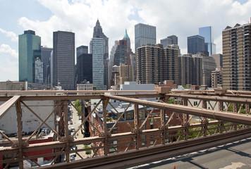 New York City, Manhattan, Brooklyn Bridge