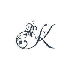 Sign the letter K