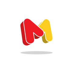 Sign the letter M