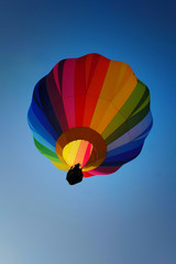 colorful hot air balloon in the sky 3