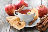 Fototapeta Kawa jest smaczna - Apfel-Zimt Tee © Hetizia
