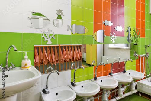 children's room for washing - 70339246