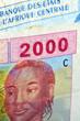 Постер, плакат: Franc CFA Franco CFA Franc Zone Франк КФА Frank CFA