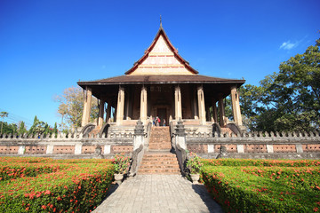 HAW PHRA KAEW, EMERALD BUDDHA TEMPLE