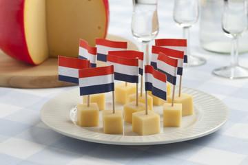 Edam cheese snacks