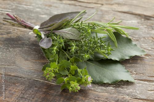 Papiers peints Herbe, epice Bouquet garni