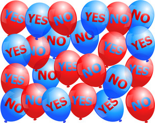Balloons Yes No