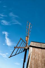 Windmühle im Wind