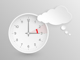 European Summer Time ends, Vector clock to reset the time