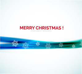 Christmas abstract background, colorful line