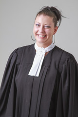 Laughing lawyer
