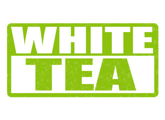White tea stamp