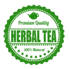 Herbal tea stamp