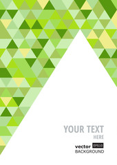 Abstract colorful geometric background, vector template