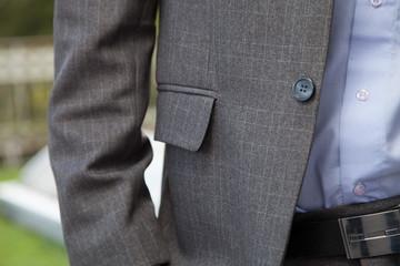business man detail