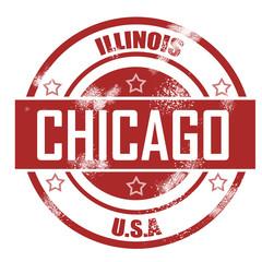 Chicago stamp