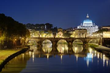 Night view of Roma