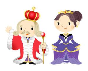 王様と女王様