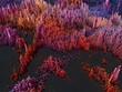 canvas print picture - abstrakte Landschaft