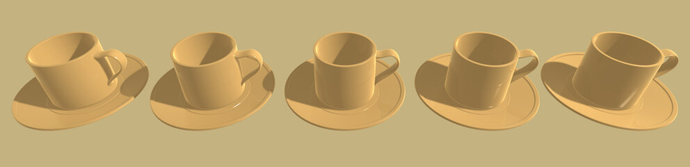 3d cups
