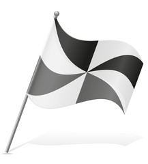flag of Ceuta vector illustration