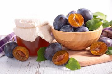 plum and jam