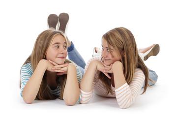 soeurs jumelles de 12 ans