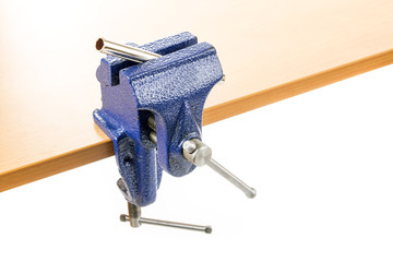 Vice clamp with workpiece