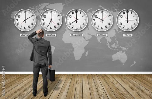Weltzeiten / Zeitzonen - 70345644