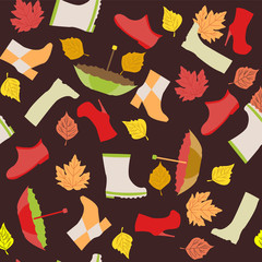 autumn pattern - Illustration