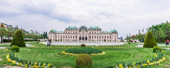オーストリア ウィーン ベルヴェデーレ宮殿 Belvedere Vienna