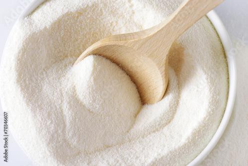 Staande foto Zuivelproducten Whole milk powder