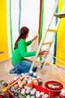 canvas print picture - Malerarbeiten