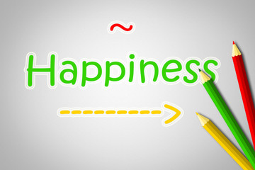Happiness Concept