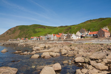 Crovie -Aberdeen Scotland