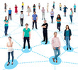 Diversified people networking